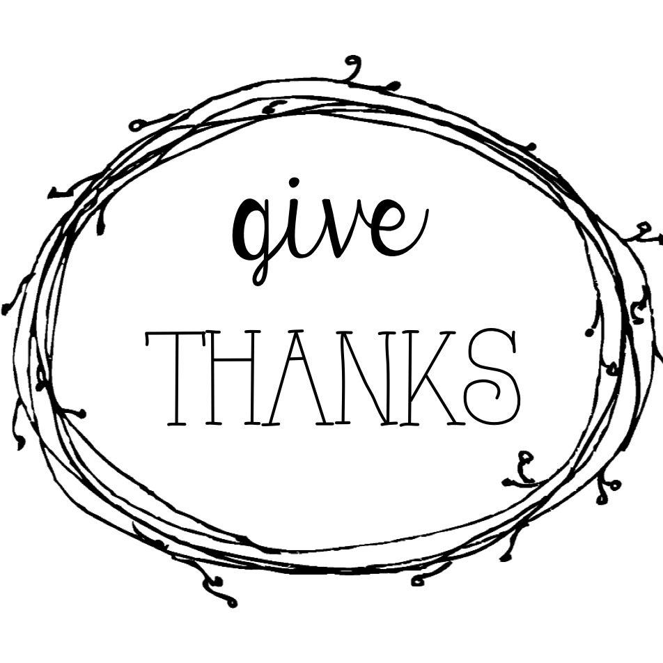 photo about Give Thanks Printable known as Deliver Due Printable