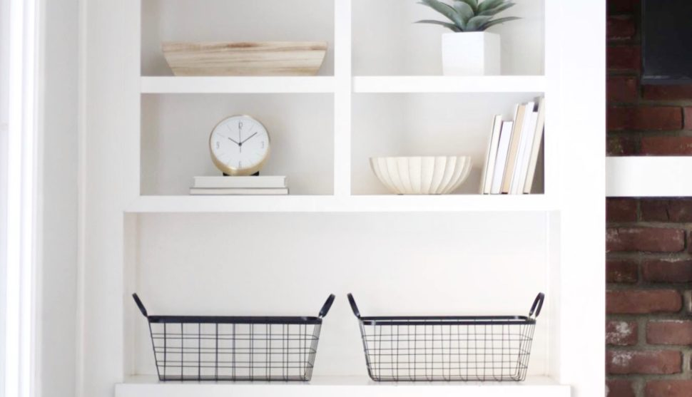 Minimalistic Shelf Decor