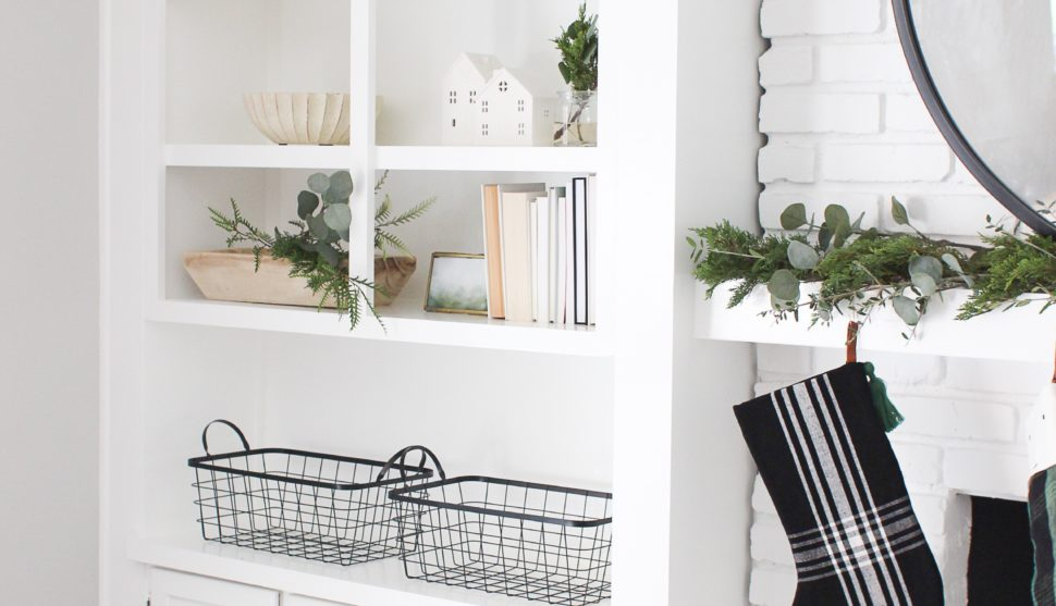 A Minimalist's Guide to Holiday Shelf Decor