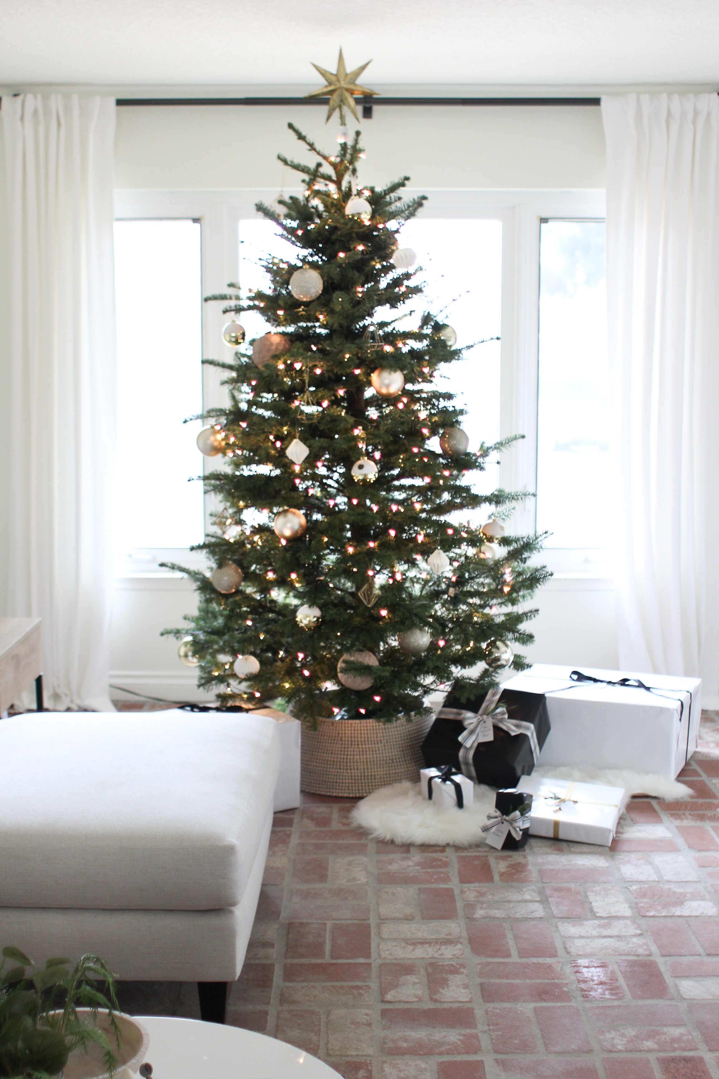 my neutral christmas tree - Neutral Christmas Decor