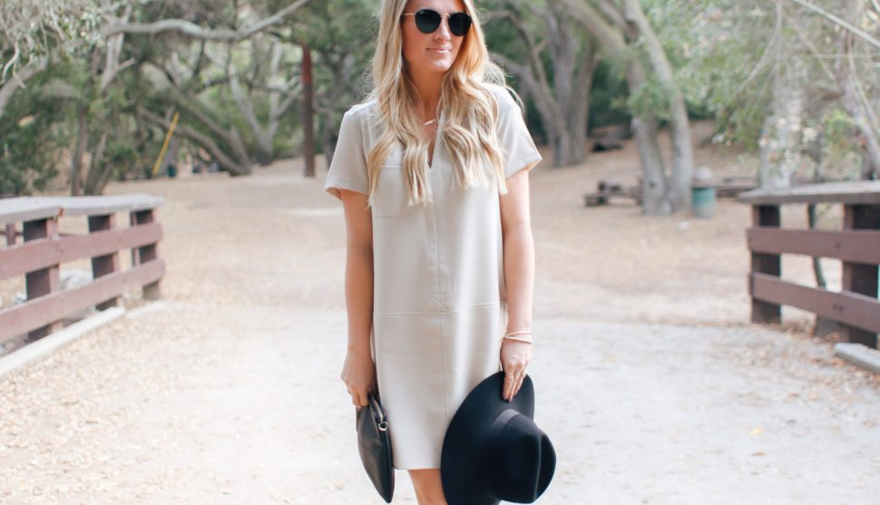 Three Ways to Style a Shift Dress