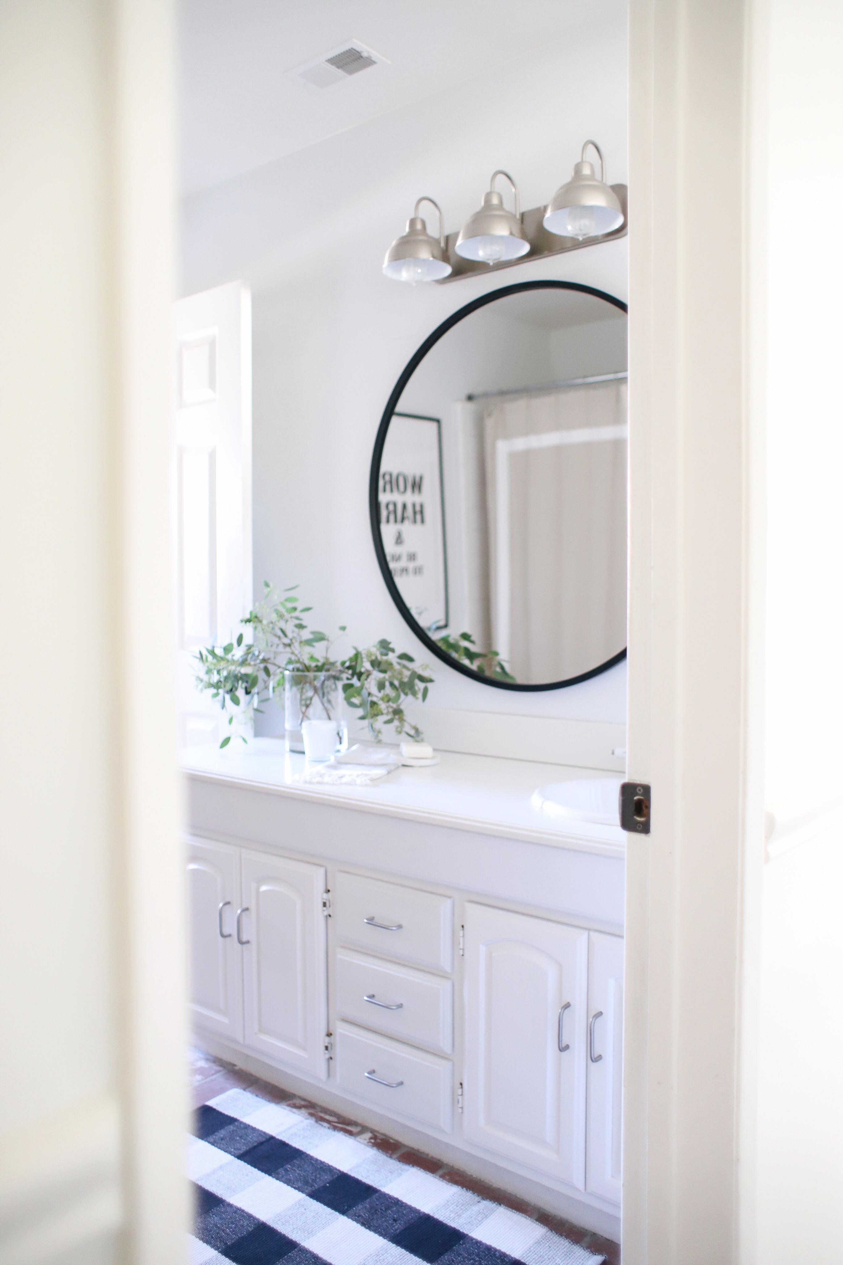 Guest Bathroom Update – HALFWAY WHOLEISTIC