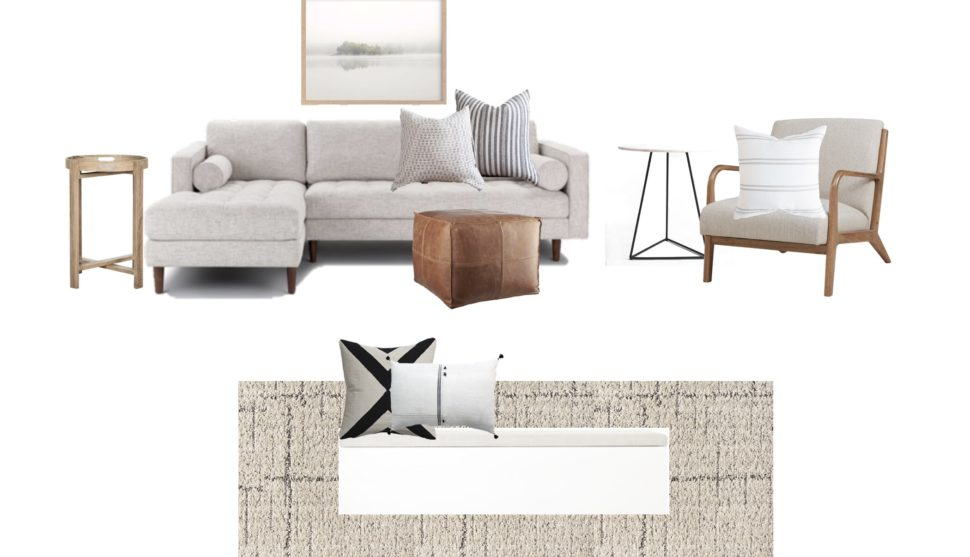 The Updated Living Room Design – HALFWAY WHOLEISTIC