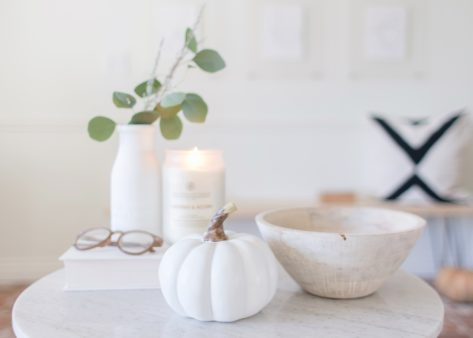 How to Incorporate Candles into Fall Décor with Chesapeake Bay Candle