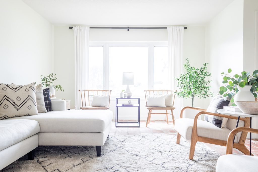 Living Room Update & Target Decor Review – Halfway Wholeistic
