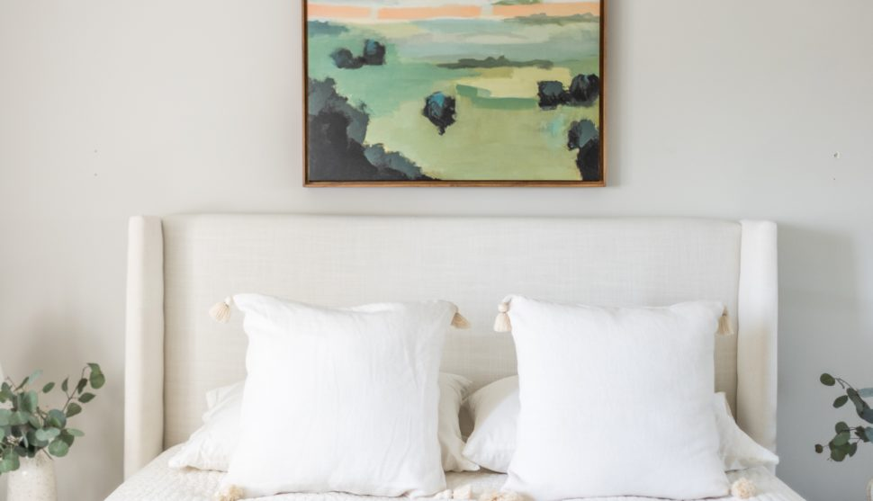 Artwork for the Modern Minimalist + Guest Bedroom Styling