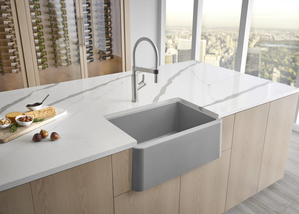 How To Create A Design Board Featuring Blanco S New Concrete Gray Sink Halfway Wholeistic