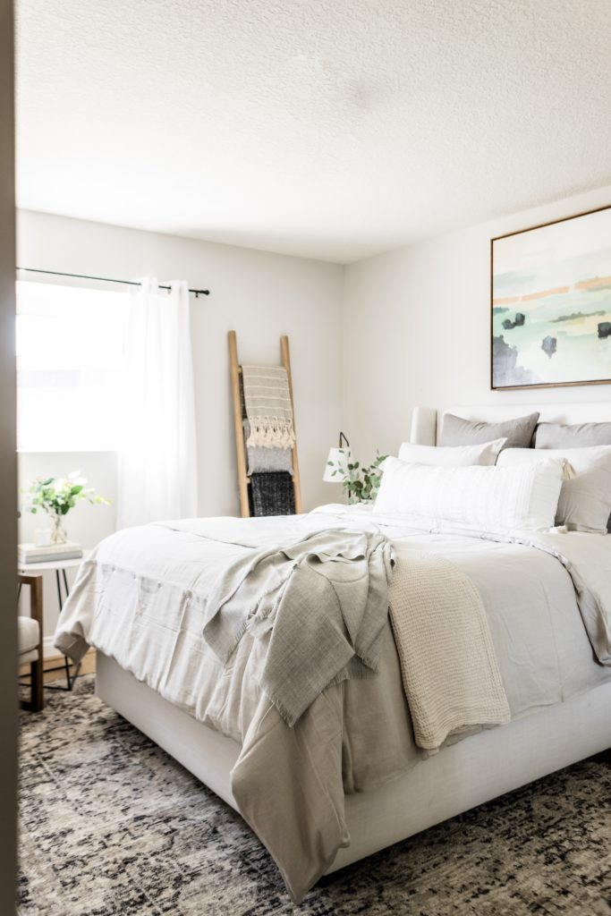 Two Ways To Style A Guest Bed Halfway Wholeistic